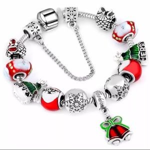 ARRIVED! Christmas Charm Bracelet with Bell Charm